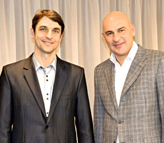 Сергей Шевченко и Радислав Гандапас