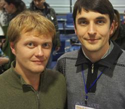 Сергей Мищук и Сергей Шевченко