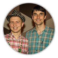 Олесь Тимофеев и Сергей Шевченко