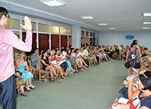 """Мастер-класс """"Формула самоценности"""" на 90 человек. Черкассы, 23 июля 2015 года."""