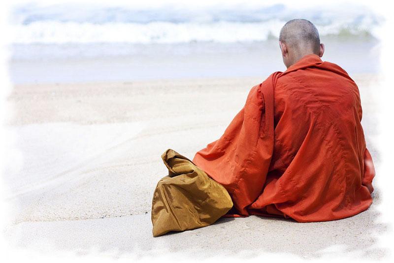 Монах. По отношению к деньгам, люди делятся на основные 4 категории